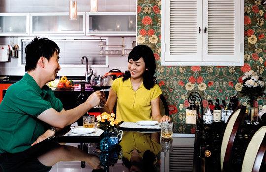 방송인 표진인·김수진 부부 Sweet Love House
