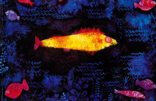깊은 물속 세계를 자유롭게 상상한 '금빛 물고기'