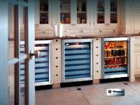 백색가전 GE 모노그램 와인 냉장고 외