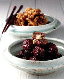 가을 과실로 만든 건강 간식