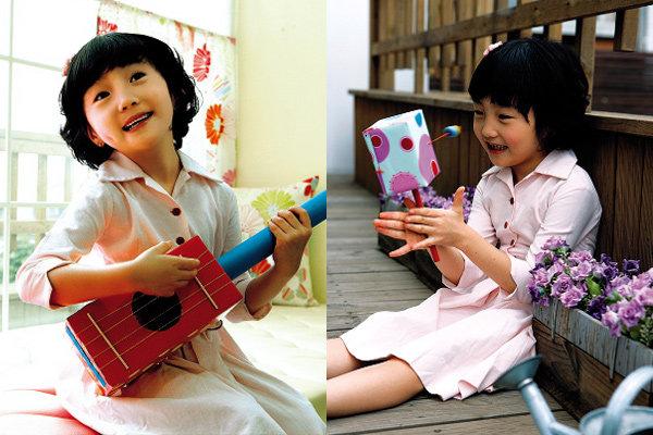 재활용품으로 만든 악기 장난감