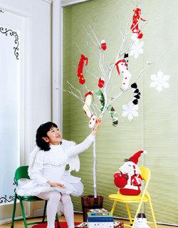 초절약 크리스마스 소품 D.I.Y