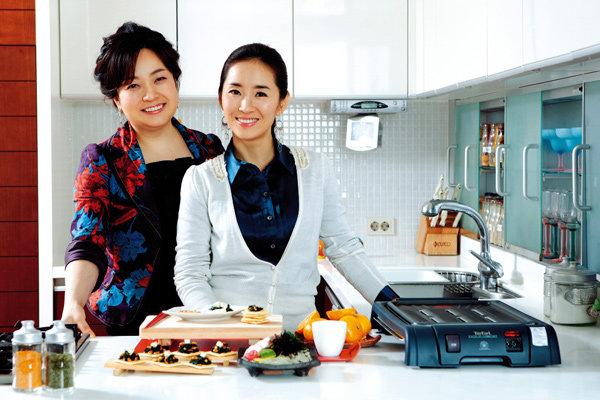 탤런트 윤유선 & 요리연구가 박연경의 즐거운 요리 수다 ♥ 열두번째