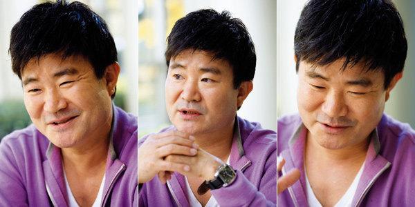 드라마 '주몽' 모팔모 역으로 인기몰이 하는 탤런트 이계인