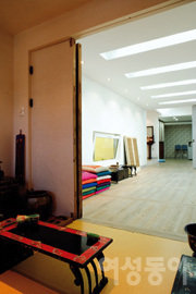 한복 디자이너 김영석의 삼청동 집