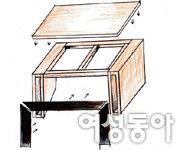 새가구증후군 걱정 없는 좌식 테이블