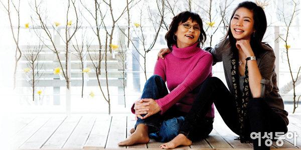김준희와 친정 엄마가 함께한 뷰티토크