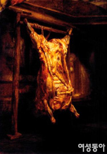 삶의 잔혹한 단면 엿보게 하는 '도살된 소'