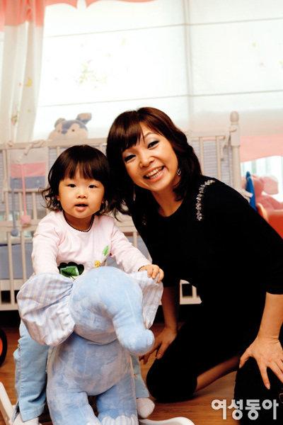 세 살배기 딸 키우며 서울에 새 보금자리 마련한 원미연