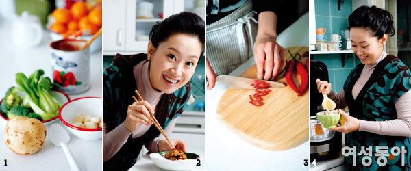 행복한 예비엄마, 아나운서 이지연의 여자 몸에 좋은 요리