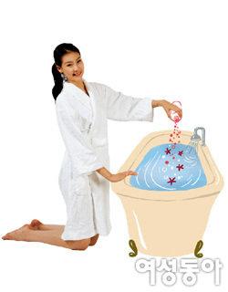 몸매 예뻐지는 목욕 스트레칭