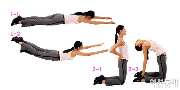 4단계 운동으로 날씬해진 김지선