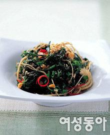 향긋한 봄야채 요리