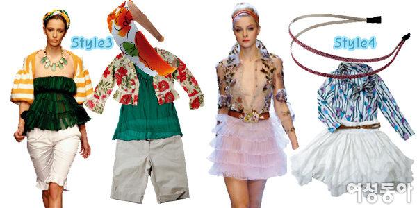 2007 봄·여름 해외 컬렉션에서 배운~ 감각만점 액세서리 코디법