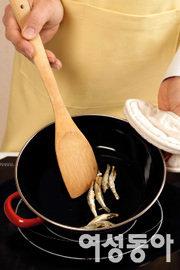 삼치조림과 애호박나물