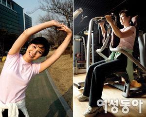 빠르게 걷기, 스트레칭으로 건강 다지는 방송인 김성경