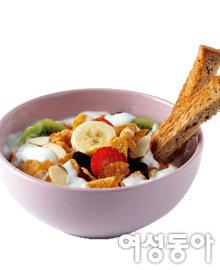 시리얼로 만든 기운 쑥쑥~ 영양 간식