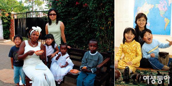 두 자녀와 아프리카에서 6개월간 머물다 돌아온 주부 구혜경