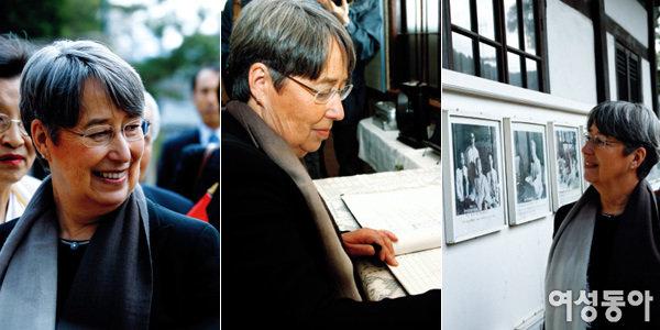오스트리아 대통령 부인 마르기트 피셔 여사