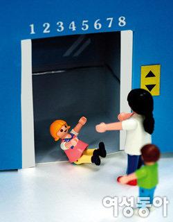 안전 사각지대~ 어린이 승강기 안전사고 예방법