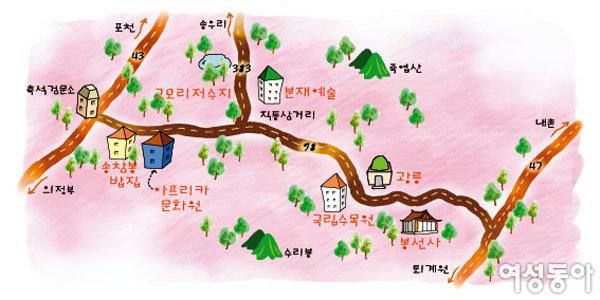포천 광릉으로 떠나는 초여름 여행