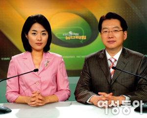 KBS '아침뉴스타임' 이주한·양영은 앵커