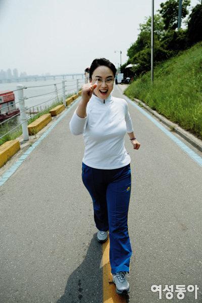 다이어트 강박증 벗어나 몸에 맞는 운동하며 건강 지키는 이혜은
