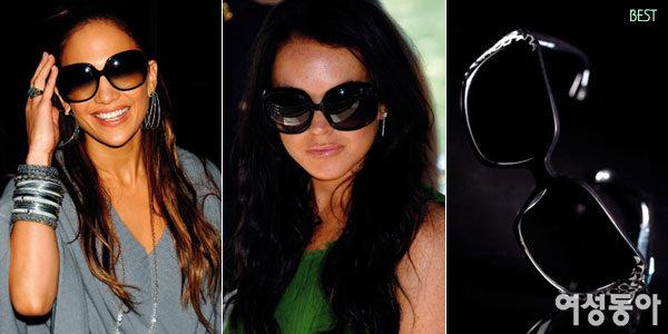 얼굴형 결점 감추는 선글라스 컬렉션
