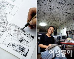 대하소설 '토지' 만화로 펴낸 만화가 오세영