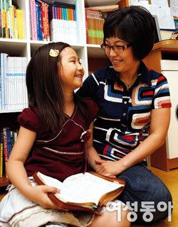 어린이 동화구연대회에서 대상 받은 초등생 안소정양 엄마 유승선씨가 들려줬어요!