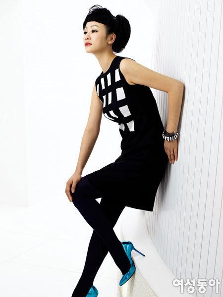 '국민 언니'로 사랑받는 하유미의 패션&뷰티 감각
