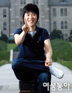 '개그콘서트'에서 '성형 후 부작용 여성' 연기해 웃음 주는 신인 개그우먼 박지선