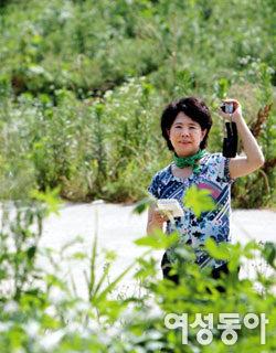 오염된 도림천을 아름다운 생태공원으로 탈바꿈시킨 주부 김종순
