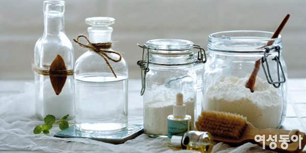 친환경 세제 활용한 청소법