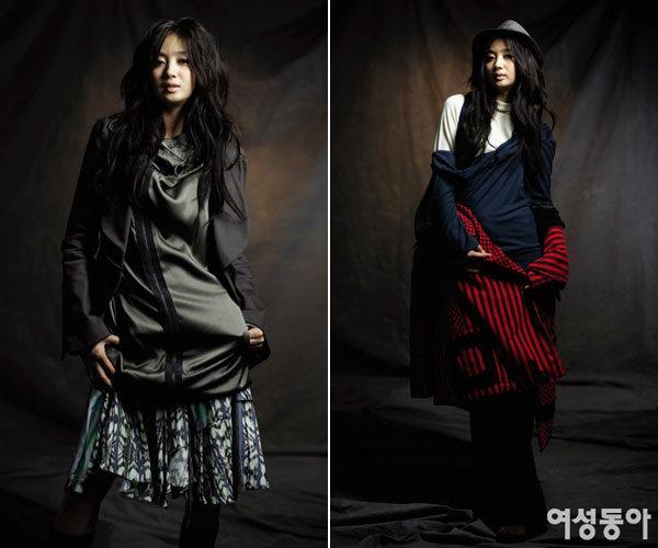 탤런트 허영란의 올가을 패션 제안 MIX&MATCH