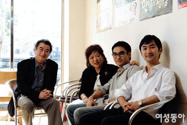아내, 두 아들까지 총출동해 영화 만든 하명중 감독 가족