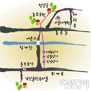 아이와 함께 가을에 걷기 좋은 서울길