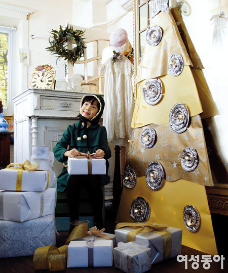 재활용품으로 만든 크리스마스 소품 D.I.Y