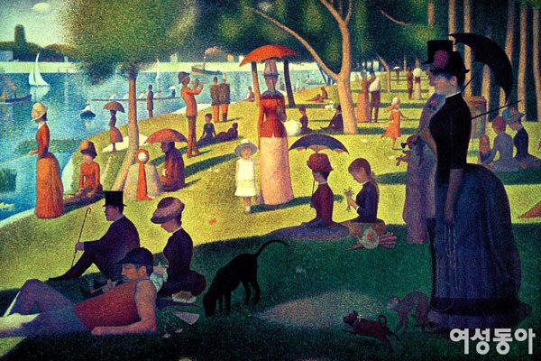 휴식 즐기는 사람들의 여유가 느껴지는 그랑드 자트 섬의 일요일 오후