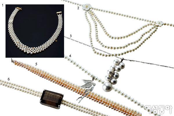 여자의 꿈과 로망 담은 Pearl Necklace