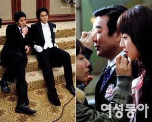 드라마 '미우나 고우나' 결혼식 촬영현장