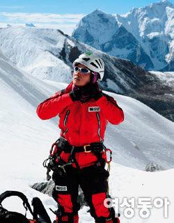 지난해 히말라야 3개 봉 연속 오른 산악인 고미영