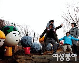 영화 '식객'에 세 식구가 함께 출연해 눈길 끈 정은표·김하얀 부부