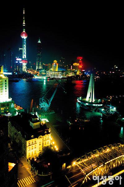 상하이 밤 문화 즐기기