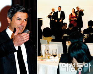 올리타리아 2008 신제품 론칭 이벤트