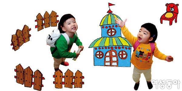 '아기'에서 '어린이'로~ 훌쩍 자란 쌍둥이 관찰기