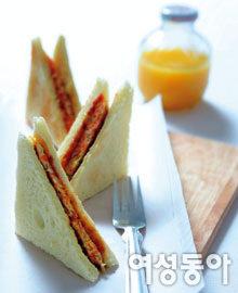 아침식사용 토스트 & 샌드위치