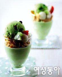 아이스크림으로 만든 이색 간식