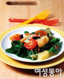 몸에 좋은 야채로 만든 피크닉 요리