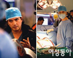 드라마 '뉴 하트' 촬영현장